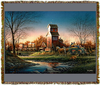 Above The Fruited Plain by Terry Redlin Tapestry Throw MS-0683TU3