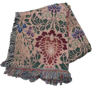 Acanthus Spectrum Tapestry Throw 3802-T