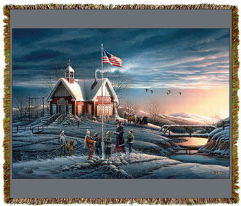 America by Terry Redlin Tapestry Throw MS-0711TU3