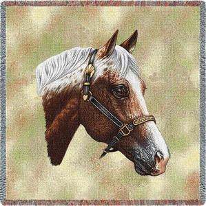 Appaloosa Horse Tapestry Lap Square