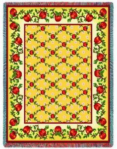 Apple Season Tapestry Throw PC1672-T