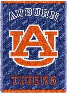 Auburn University Logo Small Stadium Throw Blanket (48x69 Inches)