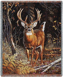 Bad Attitude Deer Tapestry Throw PC4712-T