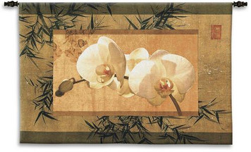 Bamboo and Orchids I Wall Hanging PC-3033-WH