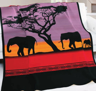 African Dusk Blanket