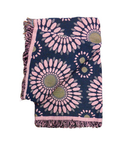 Blossom Whimsy Tapestry Throw Blanket
