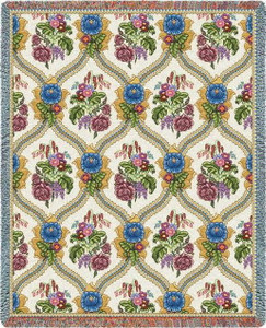 Bouquet Floral Tapestry Throw PC3818-T