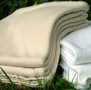 Sahara Natural Cotton Twin Luxury Bed Blanket