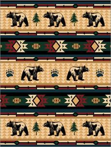Cabin Fever Bear Fever Blanket