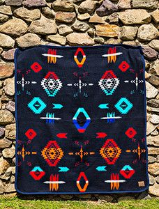 Cabin Fever Big Chief Blanket