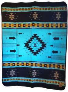Cabin Fever Chimayo Blanket