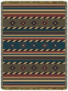 Cherokee Trail Tapestry Throw 10053