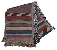 Cherokee Trail Tapestry Throw 10053 close