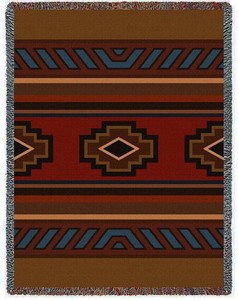 Chimayo Tapestry Throw PC-6484-T