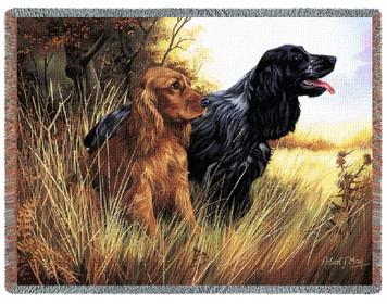 Cocker Spaniel Dog Tapestry Throw PC1124-T