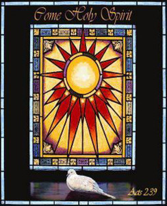 Come Holy Spirit Tapestry Throw