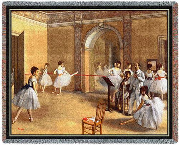 Dance Foyer Tapestry Throw PC1075-T