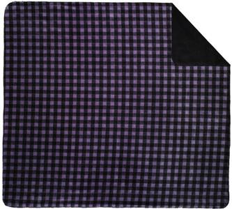 Denali Purple Buffalo Check/Black Pillow or Throw