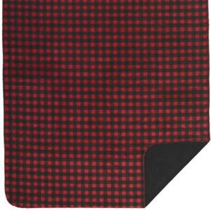 Denali Red Buffalo Check/Black MicroPlush Pillow or Throw