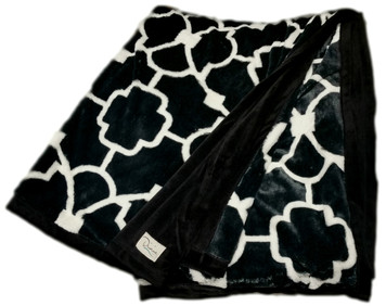 Divine Verve Garden Gate Faux Fur Throw