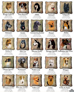 Dog Breed Products / Rough Collie II through Yorkie