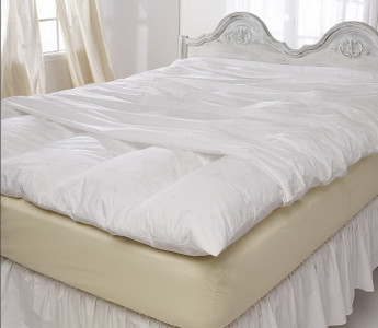 Pacific Coast® Full Feather Bed Cover with Zip Closure