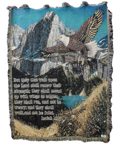 Isaiah Eagle Tapestry Throw Blanket 10001