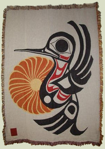 Joe Mandur Jr Hummingbird 3 Layer Woven Throw