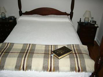 Fireside 100% Organic Wool Blanket