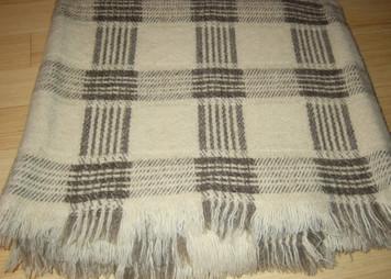 Milan 100% Organic Wool Blanket