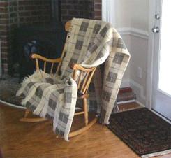 Mycen 100% Organic Wool Blanket