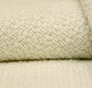 Organic Cotton Crepe Weave Full Sized Blanket FU-CP-1
