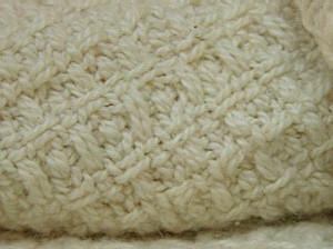 Organic Cotton Waffle Weave Crib Baby Blanket CB-WF-1