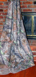 Realtree Camo Throw Blanket