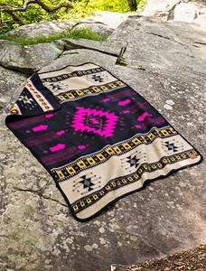 Cabin Fever Santa Rosa Twin Blanket