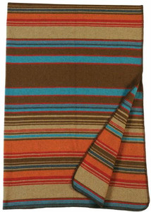 Wooded River Tombstone Throw