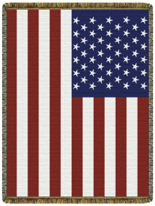 USA Flag Tapestry Throw L10098