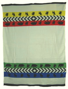 Wilderness Bay Design Polar Fleece Blanket