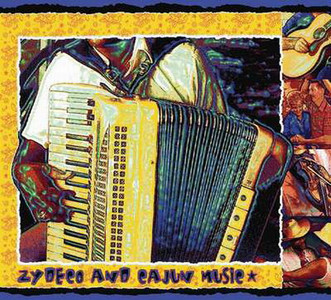 Zydeco and Cajun Music Tapestry Throw MS-9237TU4