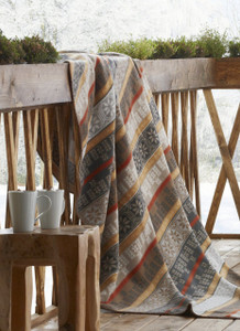 Biederlack Cotton and Acrylic Home Decor Blanket