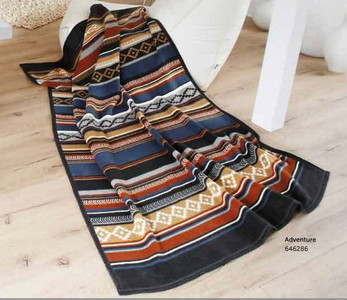 Adventure Biederlack Blanket Full
