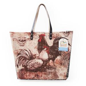 Bohemian Rooster Tote Bag by Susan Winget