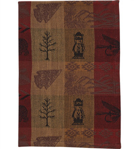 High Country dish towel