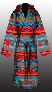Sunset Rustic Cross Robe L/XL