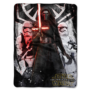 Star Wars EPS 7 - First Order Micro Raschel Throw Blanket
