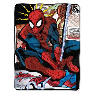 Spiderman - Spider Origins Micro Raschel Throw Blanket