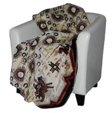 War Records/Black #223 50x60 Inch Throw Blanket