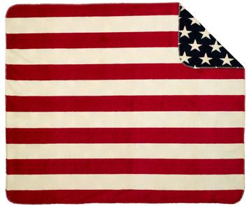 Stars/Stripes #404 60x70 Inch Throw Blanket