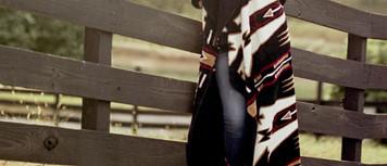 Horse Thieves Black/Black #006 60x70 Inch Throw Blanket