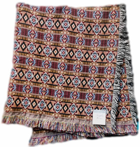 Rustic Ranch Tapestry Throw